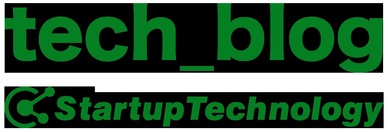 StartupTechnology開発部による技術ブログ